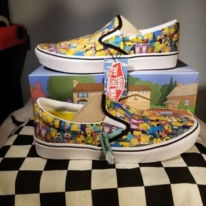 Vans x The Simpsons Slip On Men 11 ComfyCush Sprin